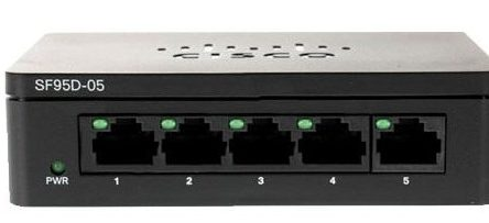 Switch Cisco SF95D-05-AS 5-Port 10/100 Mbps
