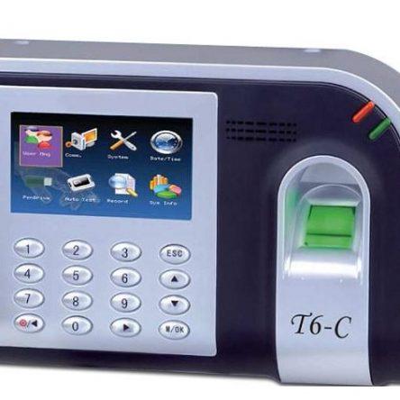 Máy chấm công vân tay và thẻ cảm ứng RONALD JACK T6-C